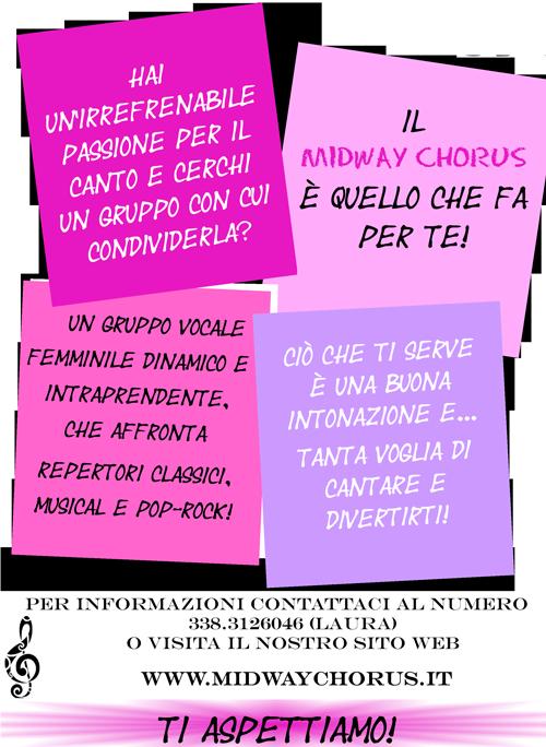 Nuove voci Midway Chorus